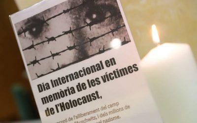 Castelldefels conmemora el Día Internacional en Memoria de las Víctimas del Holocausto