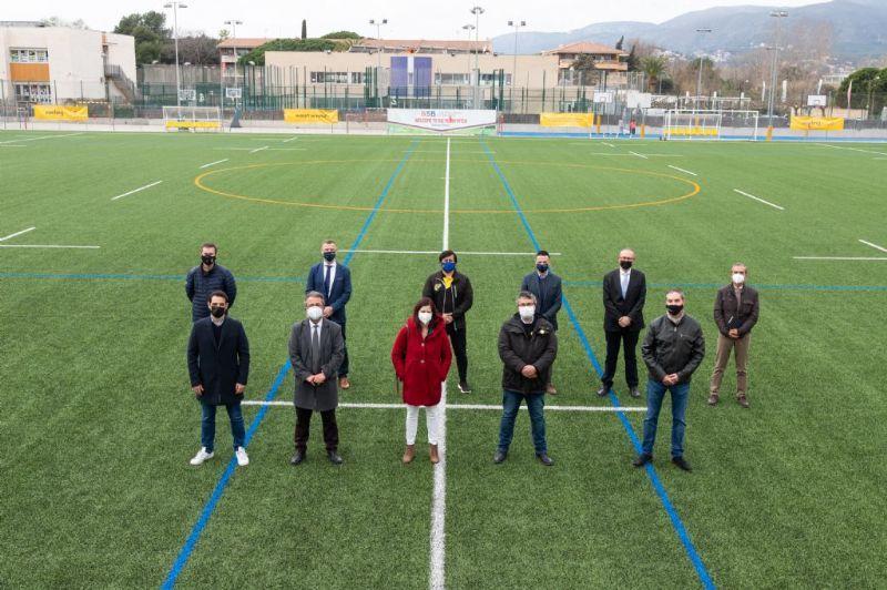 Valoración positiva del primer año de funcionamiento del campo deportivo de Pi tort
