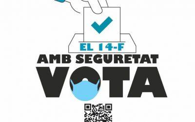 Eleccions 14-F: comprovi els canvis en col·legis i meses