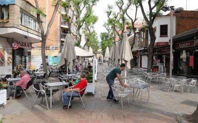 Les terrasses continuaran amb una bonificació del 75% de la taxa d'ocupació de la via pública