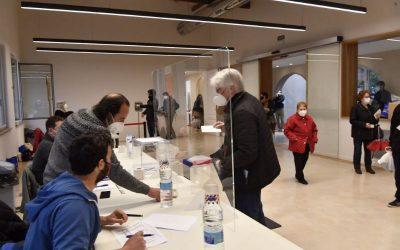 La participación en Castelldefels en las elecciones al Parlament ha sido del 52,05%