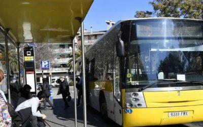 L'AMB es compromet a estudiar alternatives de millora del servei d'autobús a Castelldefels