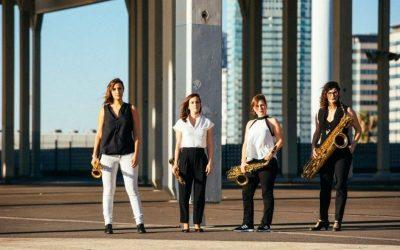El sonido de los saxos de Limnos Quartet, este viernes en el Teatro Plaza con el espectáculo 'Espais'