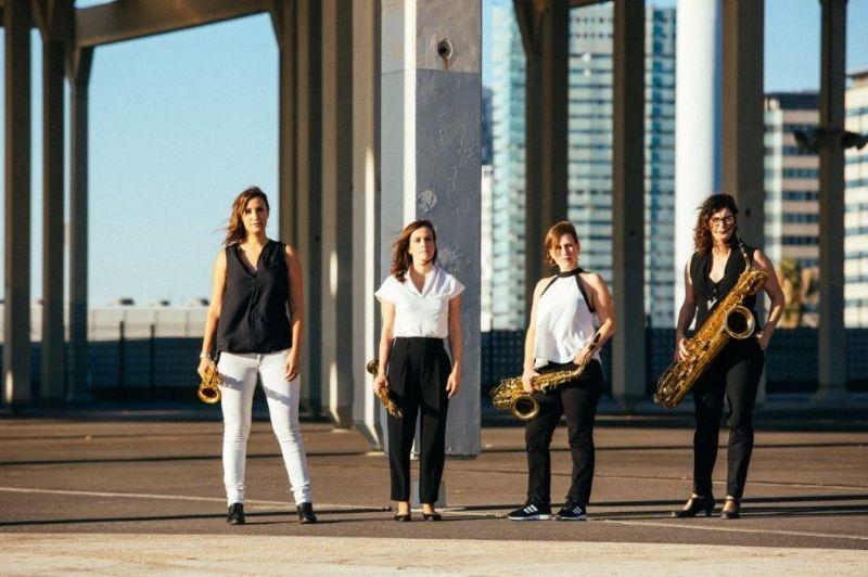 El so dels saxos de Limnos Quartet, aquest divendres al Teatre Plaza amb l'espectacle 'Espais'