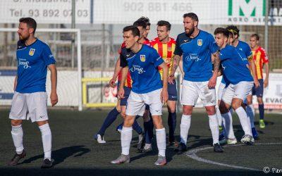 La UE Castelldefels perd a Vilafranca, el Vista Alegre empata a casa