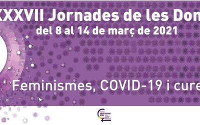 Les Jornades de les Dones es dediquen enguany al Feminisme, COVID-19 i les cures