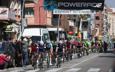 La Volta a Catalunya arriba a Castelldefels
