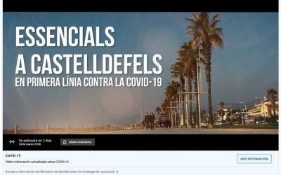 """Dimecres, estrena del documental """"Essencials a Castelldefels"""" al canal de YouTube de l'Ajuntament"""