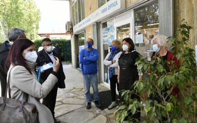 """Les actuacions contra les inundacions centren el segon """"L'alcaldessa als barris"""""""
