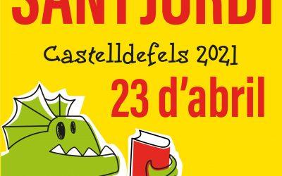 Castelldefels celebra enguany un Sant Jordi amb activitats descentralitzades