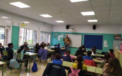 Aposta per seguir fomentant la lectura a les escoles en un Sant Jordi marcat per la Covid