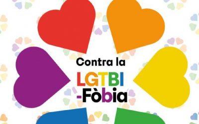 Castelldefels commemora el Dia Internacional contra la LGTBIfòbia