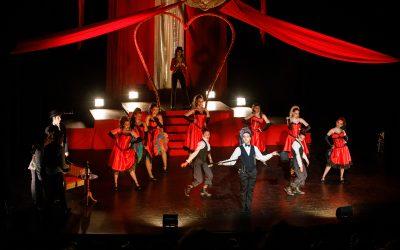 'Cancán Rouge, el musical' va tornar el passat cap de setmana al Teatre Plaza