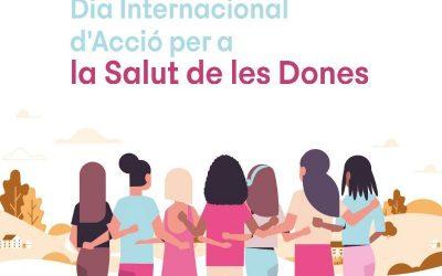 Commemoració del Dia d'Acció per a la Salut de les Dones a Castelldefels