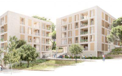 Cessió a l'IMPSOL d'una parcel·la per fer més de 70 vivendes de lloguer assequible
