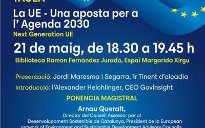 Castelldefels clou aquest divendres el cicle de conferències al voltant del Dia d'Europa