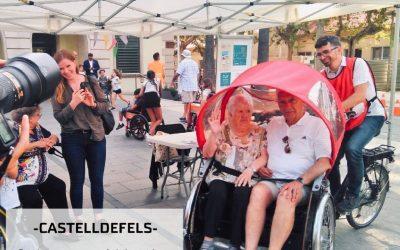 """""""En Bici Sense Edat"""" arribarà a Castelldefels el proper mes de juliol"""