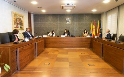 La consellera de Recerca i Universitats va visitar Castelldefels aquest dimarts