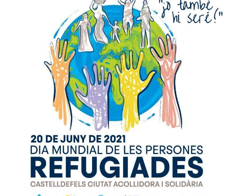 Castelldefels conmemora el Día Mundial de las personas refugiadas