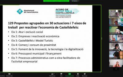 Sessions virtuals per fer balanç del primer any de l'Acord de Ciutat
