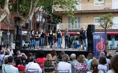 La Festa de la Música al carrer va tornar a ser presencial