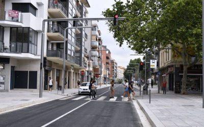 Obert al trànsit el tram de l'Avinguda Constitució entre Dr.Ferran i Pau Casals