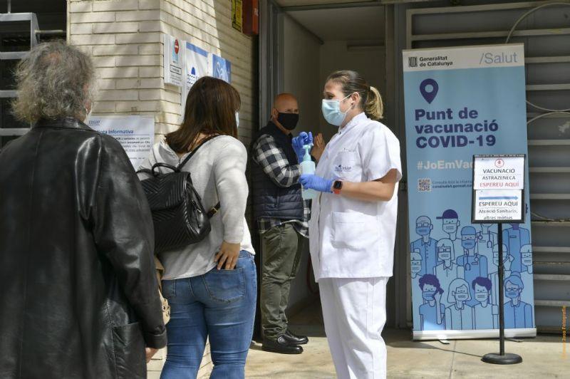Últims dies per vacunar-se sense cita prèvia al centre cívic Frederic Mompou