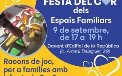 Las Cases dels Infants municipales celebran la Festa del Cor de los Espacios Familiares